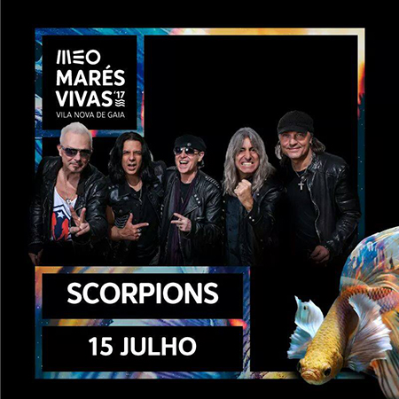 Cartaz MV Scorpions